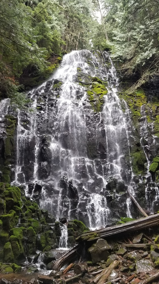 View of Ramona Falls in the Mt. Hood Wilderness