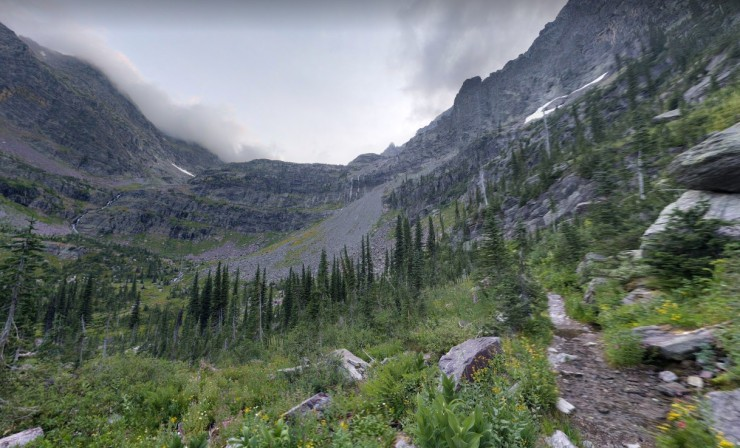 sperry-glacier-trail-start