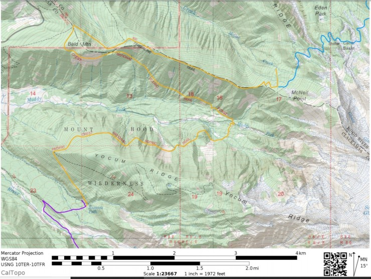 timberline-trail-map-day-2