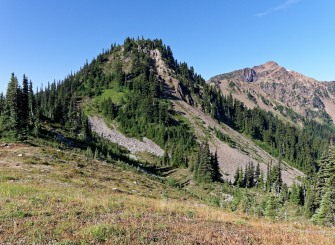 View from near Lost Pass along the Deer Park Loop in Olympic National Park (credit: John Strother)