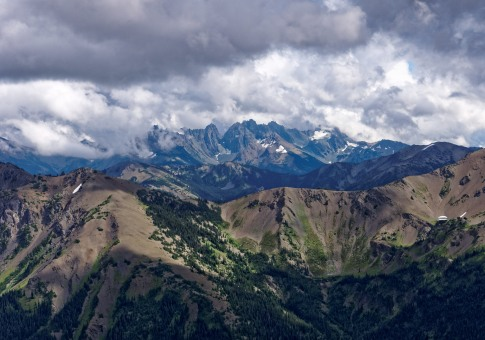 View from Hurricane Ridge in Olympic National Park (credit: John Strother)